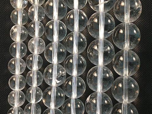 Natural Clear Quartz Beads 8mm
