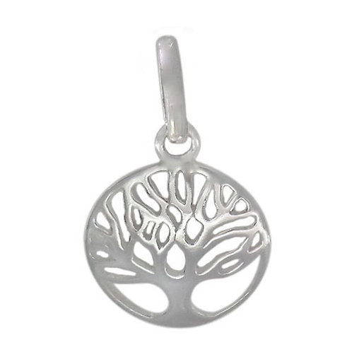 925 Smooth Tree OF Life Charm