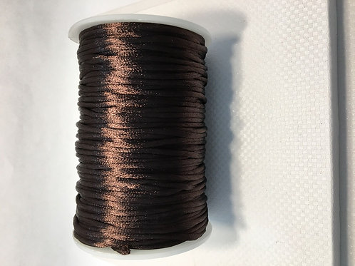 2mm Rat Tail Brown 100yd