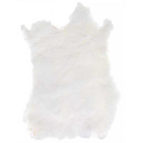 Rabbit Fur Skin White (1pc)