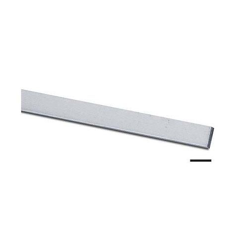 """925 Sterling Silver 24g Plain Bezel Wire (1/8"""" x 0.020"""") 1ft"""