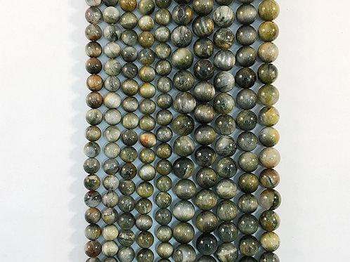 Natural Eagle Eye Quartz Beads 8mm