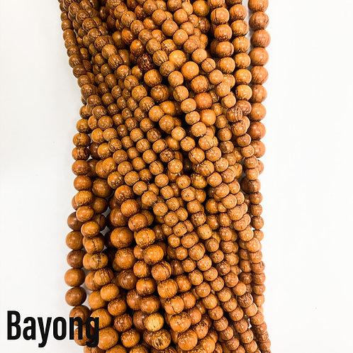 Bayong Wood Beads 8mm