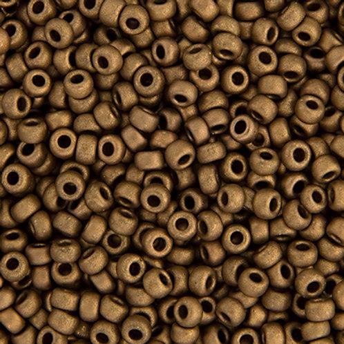 Miyuki Seed Beads 6/0 Matte MET. Dark Bronze