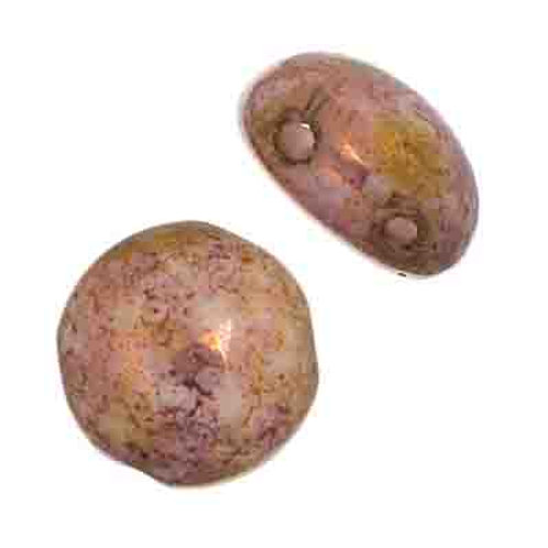 Candy Beads 8mm Pink Terracotta Lus