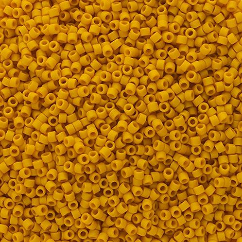 2284 DB 11/0 FRGL Yellow Canary Matte