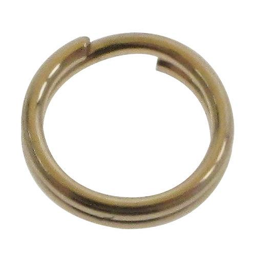 14KGF Round Split Ring