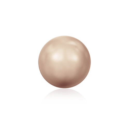 Swk Pearl 4mm Rose Gold