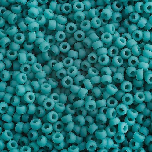 Miyuki Seed Beads  11/0 Turquoise Green OP. Matte
