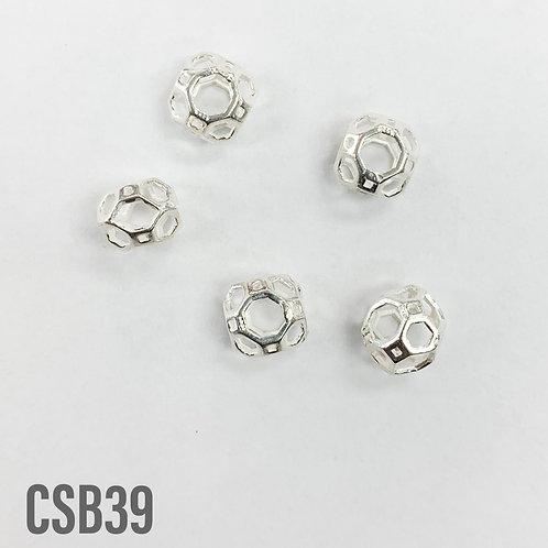 925 Shiny Frame Bead