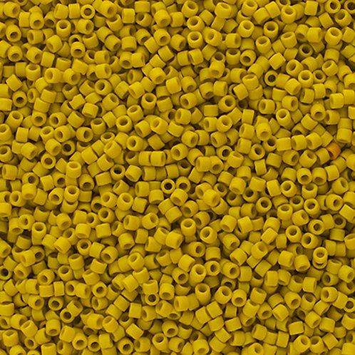 2283 DB 11/0 FRGL Yellow Lemon Matte