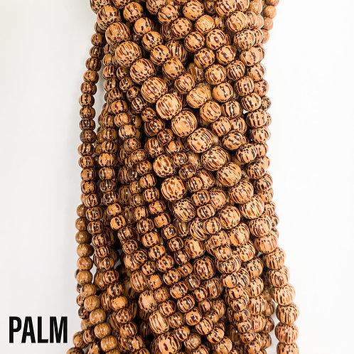 Palm Wood Beads 4-5mm