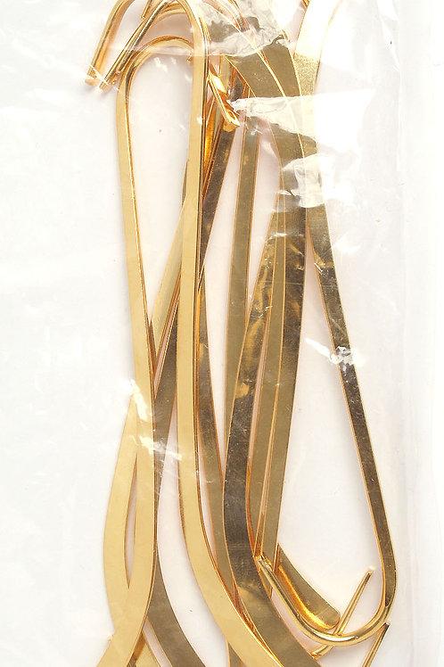 BOOKMARK PLAIN 12.5cm GOLD