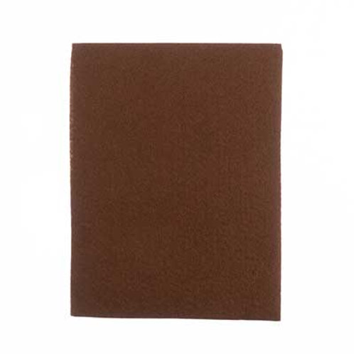 GoodFelt Beading Foundation 1.5mm 1.5mm 8.5x11in Brown