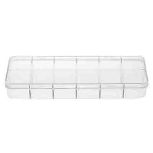 Plastic Box (15.5x5.3x2.3cm) with 12 compartments