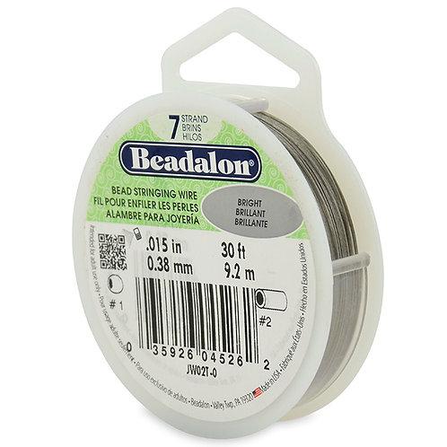Beadalon 7 strand Bright 0.015in