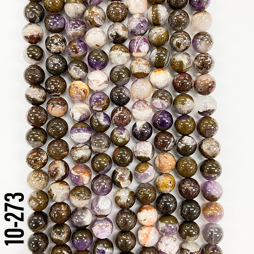 Matrix Amethyst Beads 6mm