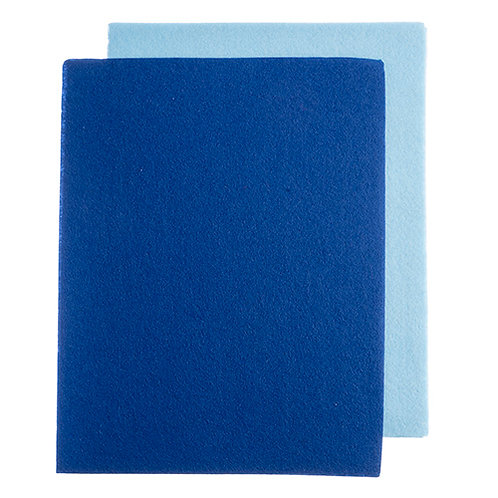 GoodFelt Beading Foundation 1.5mm 1.5mm 8.5x11in Lt.Blue/Blue