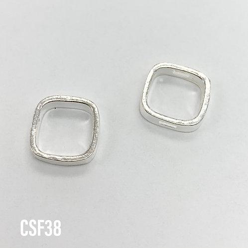 925 Square Bead Frame 11mm