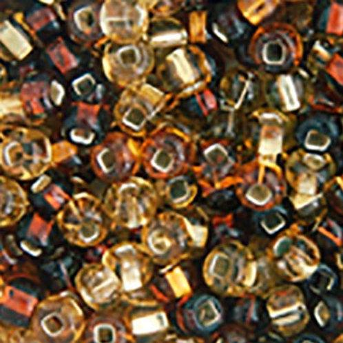 Czech Seed Beads  2/0 TOPAZ S/L MIX