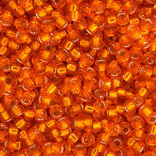 Miyuki Seed Beads 6/0 Orange S/L
