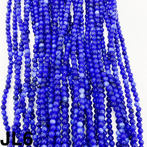 Dyed Jade Royal Blue Colour 3mm