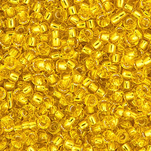 Miyuki Seed Beads  11/0 Yellow S/L