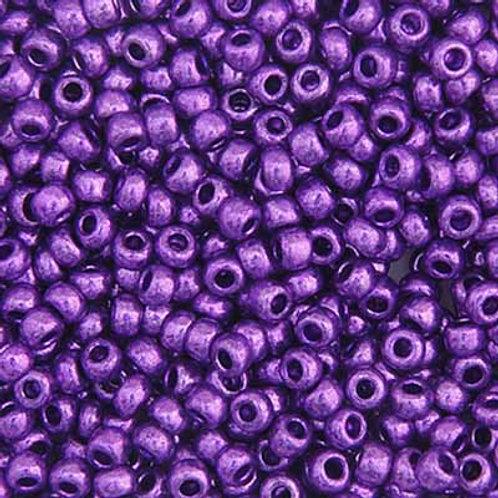Czech Seed Beads 8/0 MET. PURPLE