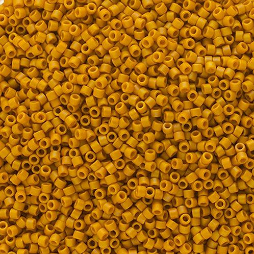 2302 DB 11/0 FRGL Yellow Matte AB