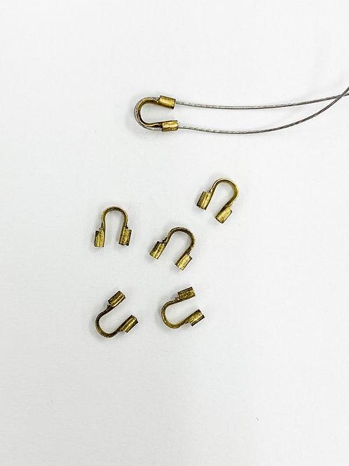 Antique Brass Wire Guard
