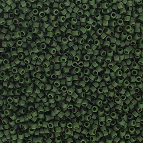 2291 DB 11/0 FRGL Emerald Matte