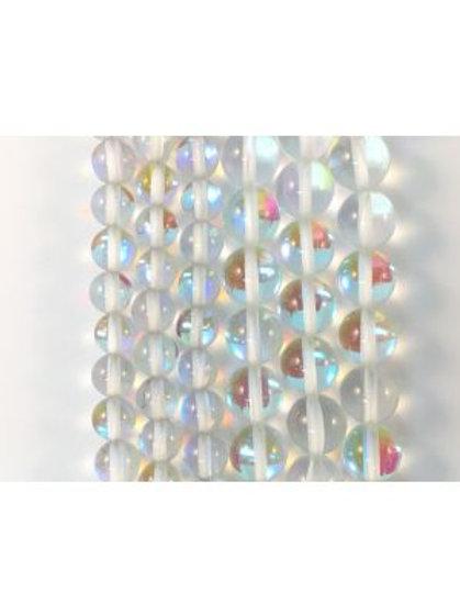 Moon Light QZ (Man-Made) Beads 8mm