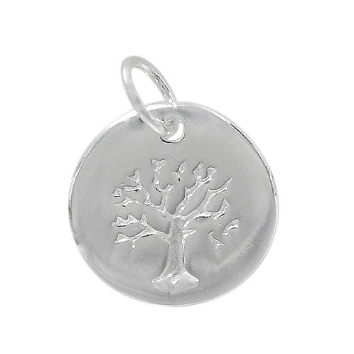 925 Tree Of Life Charm With 5mm Loop