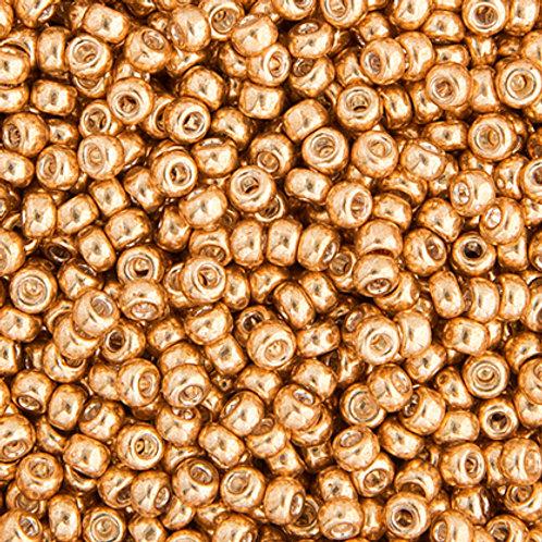Miyuki Seed Beads  15/0 Gold GLVZD