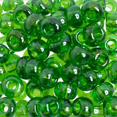 Czech Seed Beads  2/0 TR.CHARTREUSE LUSTRE