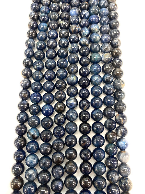 Natural Azurite Beads 6mm