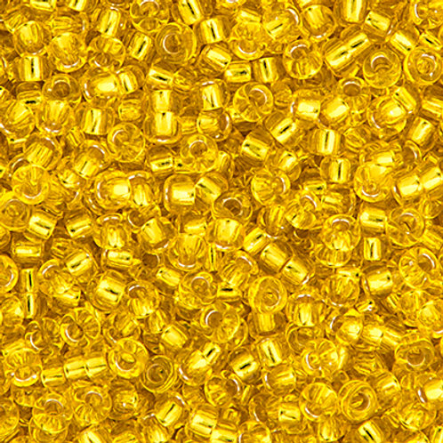 Miyuki Seed Beads 8/0 Yellow S/L