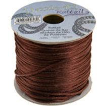 Nylon Rat-tailCord 1.5mm Light Chocolate 5yard