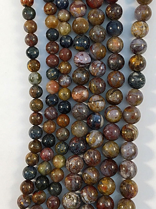 Natural Petiersite Beads 8mm