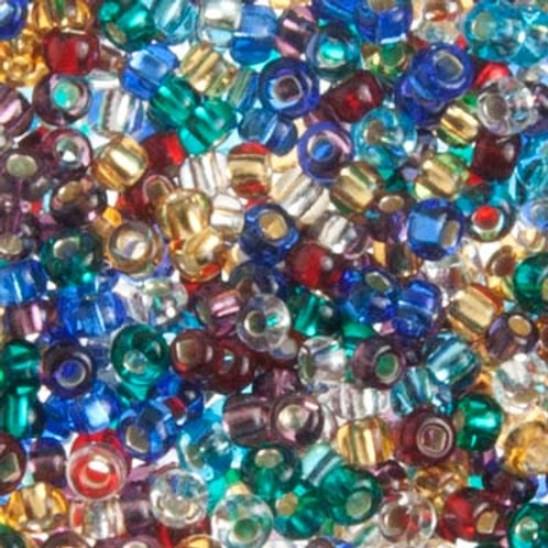 Czech Seed Beads 8/0 S/L MULTI
