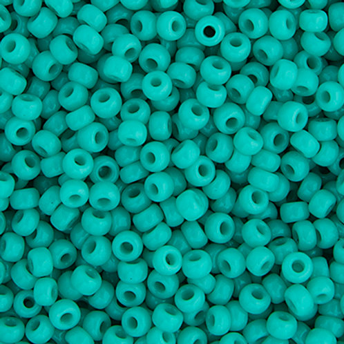 Miyuki Seed Beads  6/0 Turquoise Green OP.