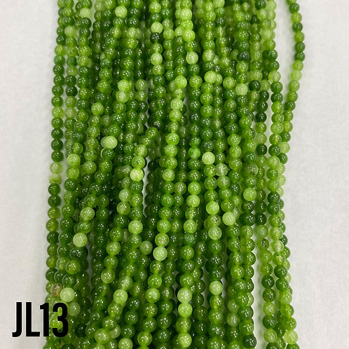 Dyed Jade Lime Green Colour 3mm