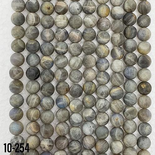 Natural Matte Labradorite 6mm