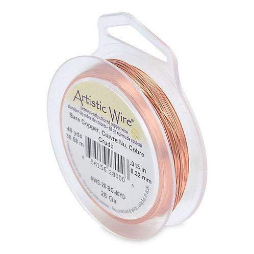 Bare Copper Wire 28g 40yds