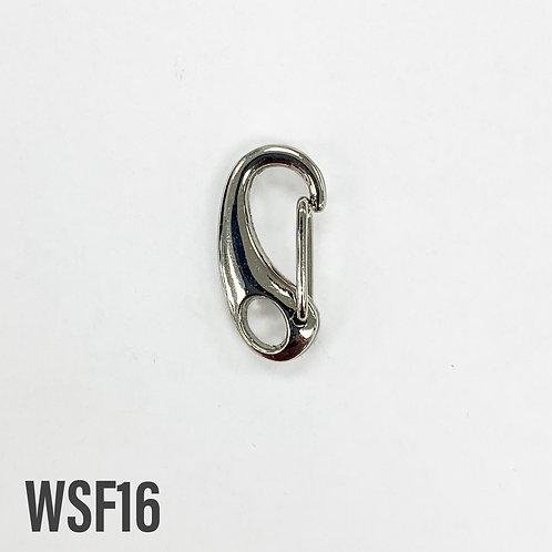 25mm Rhodium G Clip