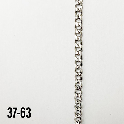 304 Stainless Steel 4mm Curb Chain (yard)