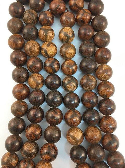 Tibetan Agate Brown