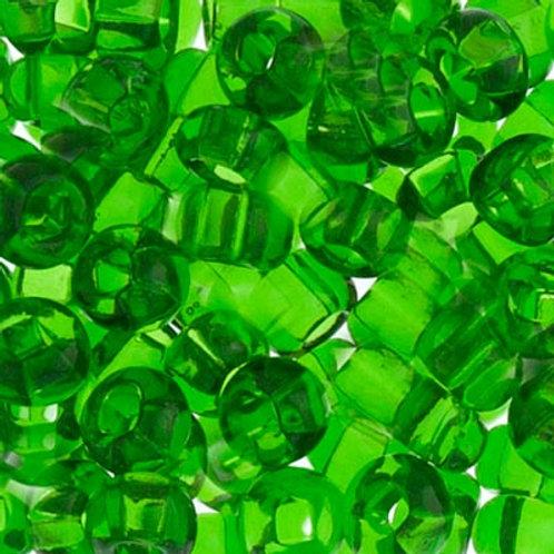 Czech Seed Beads  2/0 TR.MED.GREEN