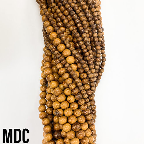 Madre De Cacao Wood Beads 10mm