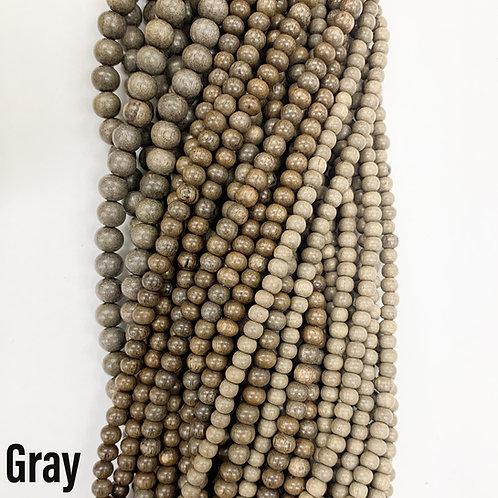 Graywood Beads 10mm